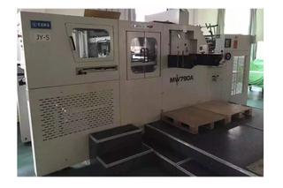 MW790A Refurbished Used YAWA Diecutting Machine